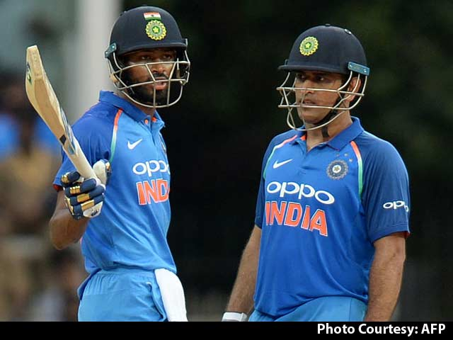Video : MS Dhoni, Hardik Pandya Power India To 26-Run Win Over Australia