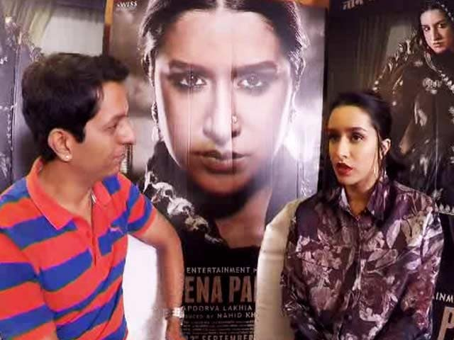 Shraddha Kapoor On Playing Haseena Parkar
