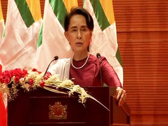 Video : Myanmar Ready To Verify Rohingya Refugee Status 'At Any Time': Aung San Suu Kyi