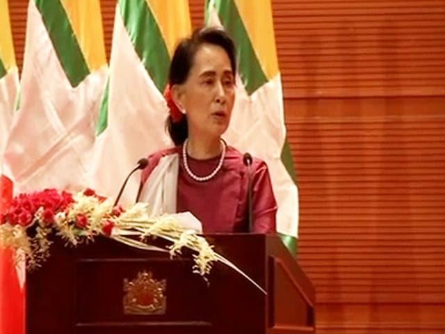 Video : Don't Fear 'International Scrutiny' Over Rohingya Crisis: Aung San Suu Kyi