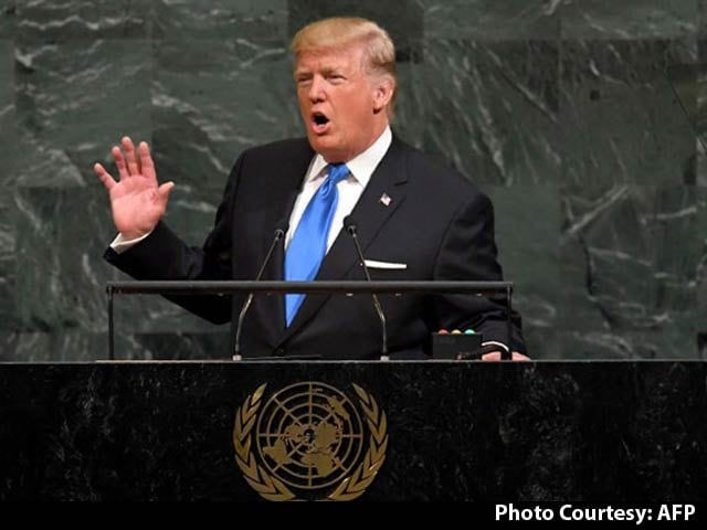 Video : In UN Speech, Trump Warns US May Have To 'Totally Destroy' North Korea