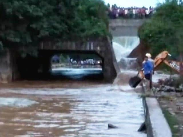 Part Of 389-Crore Bihar Dam Crashes Hours Before Launch By Nitish Kumar