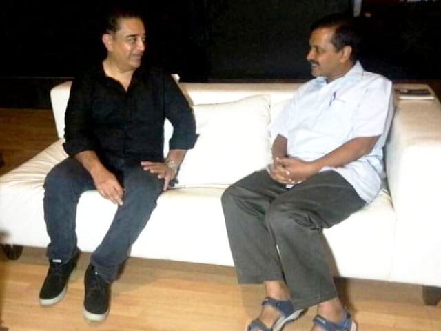 Video : Arvind Kejriwal, Kamal Haasan To Meet For Lunch. Main Course Is Politics