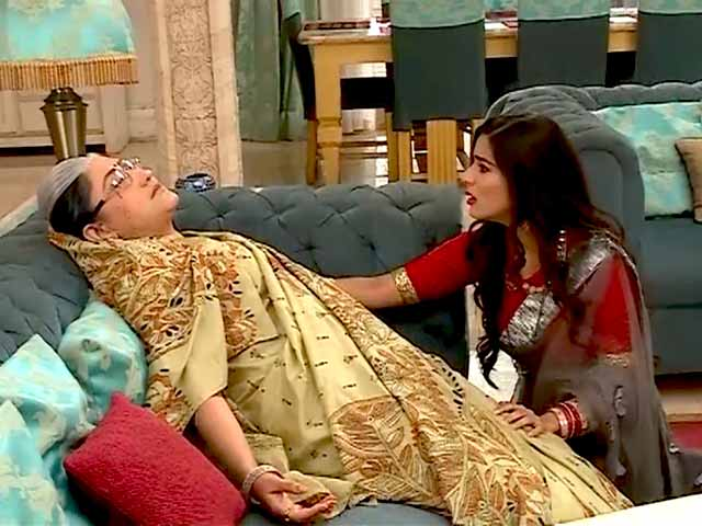 On The Sets Of TV Show Sasural Simar Ka