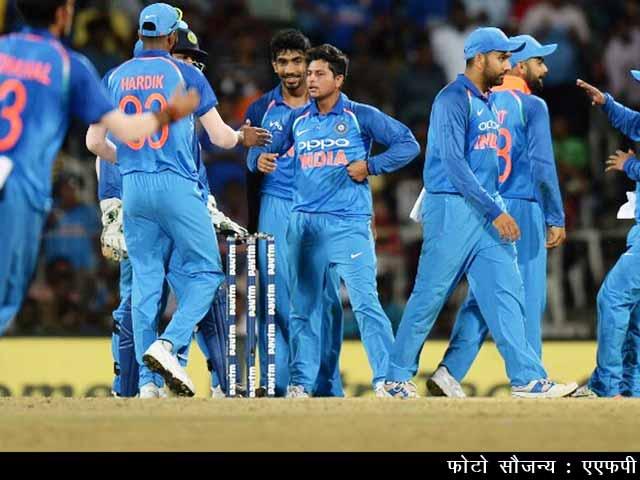 Videos : नेशनल रिपोर्टर : भारत ने ऑस्ट्रेलिया को 50 रन से हराया, कुलदीप यादव की हैट्रिक