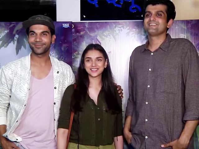 Aditi Rao Hydari & Rajkummar Rao Promote Bhoomi & Newton