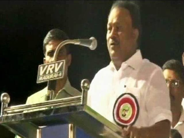 Video : We Lied About Jayalalithaa's Health, Confesses Tamil Nadu Minister