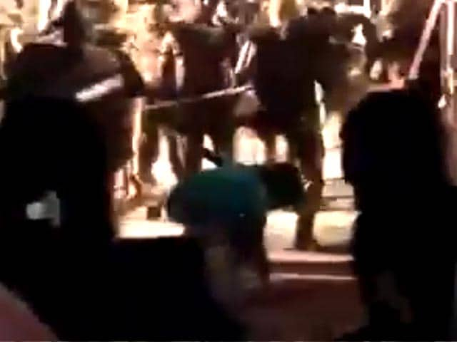 Video : In Late-Night BHU Clashes, Cops Filmed Thrashing Woman Student