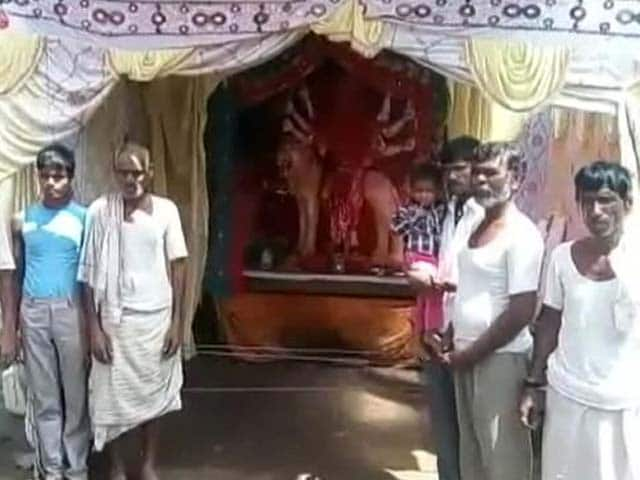 Video : दुर्गा पूजा में भी दिखा भेदभाव, दलितों के गांव में नहीं आए पुजारी