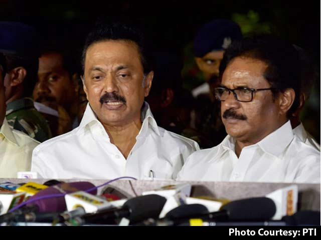 Video : DMK Demands CBI Inquiry Into Jayalalithaa's Death