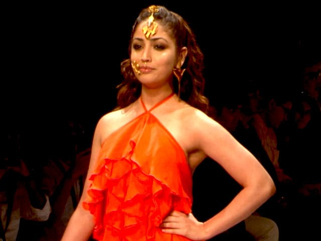 Yami Gautam Walks The Ramp