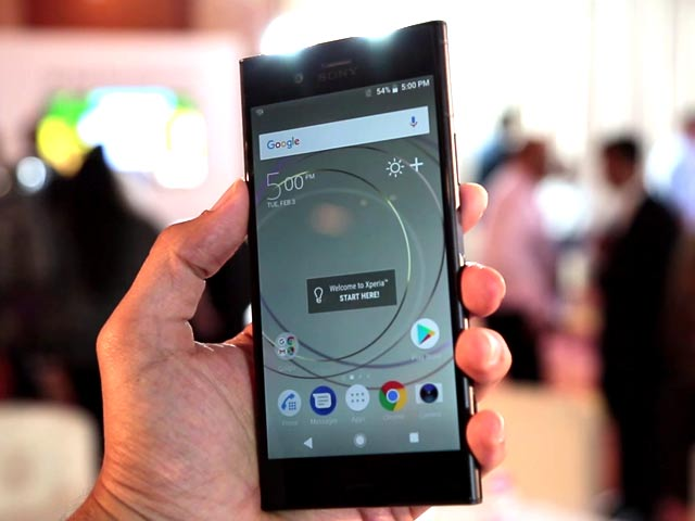 Sony Xperia XZ1: 3D Scanning First Look
