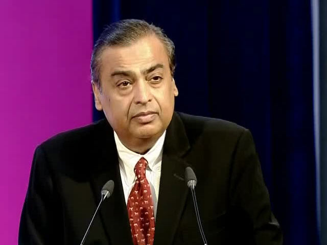 Video : 'India Does Not Need to Import Data', Says Mukesh Ambani