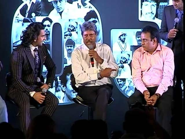 Video : 1983 World Cup Winning Indian Team Excited To See Its Story On Big Screen
