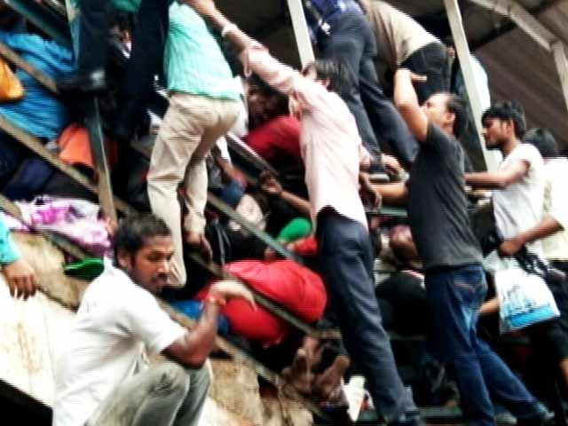 Video : 22 Dead in Stampede On Elphinstone Bridge In Mumbai