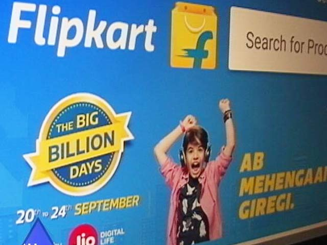 Video : Flipkart Trumps Amazon In Festive Days Sales