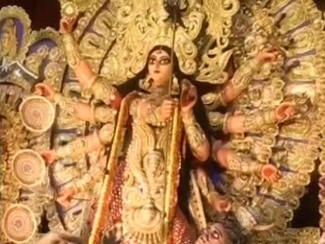 Video : Only A Handful Of Bengal Puja Organisers Immerse Idols Today