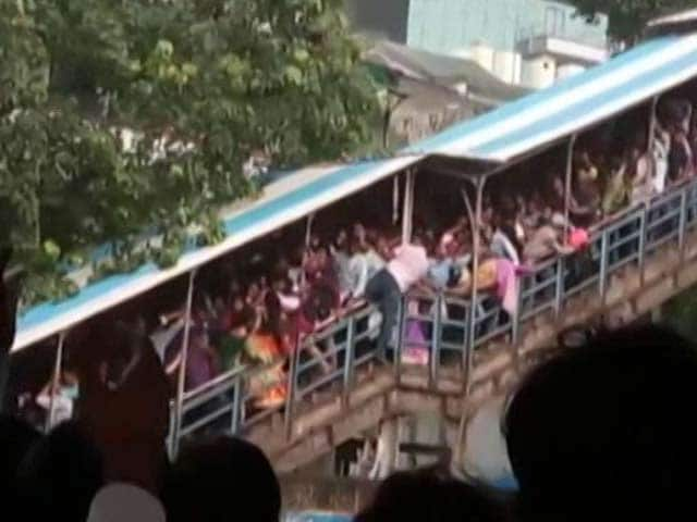 Video : Rain To Blame For Mumbai Stampede That Killed 23, Says Railways