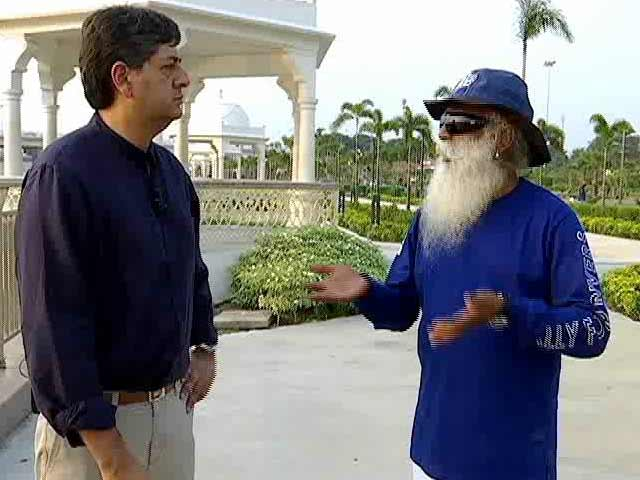 Video : In Conversation With Sadhguru: India's Rivers Are Drowning In Garbage