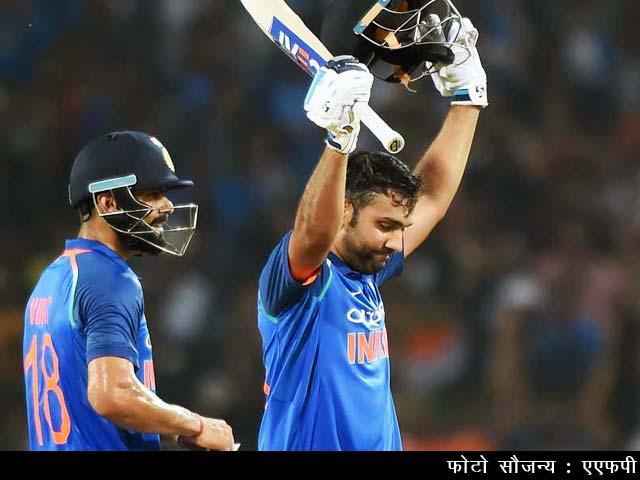 Videos : ऑस्ट्रेलिया के खिलाफ 4-1 से सीरीज जीत में हीरो बने रोहित शर्मा