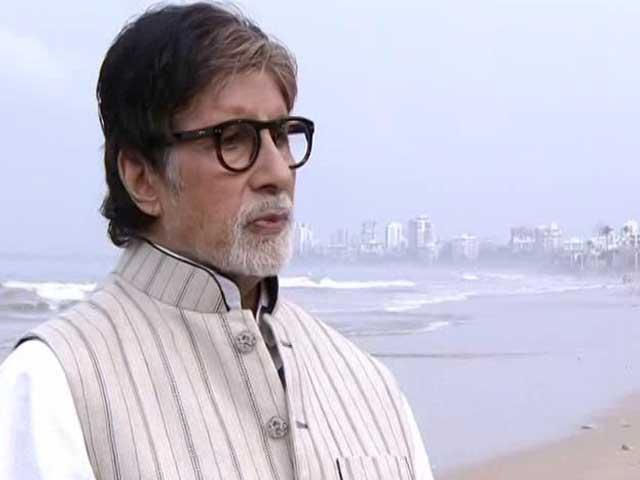 Video : Amitabh Bachchan Sets The Agenda For Banega Swachh India 12-Hour Cleanathon
