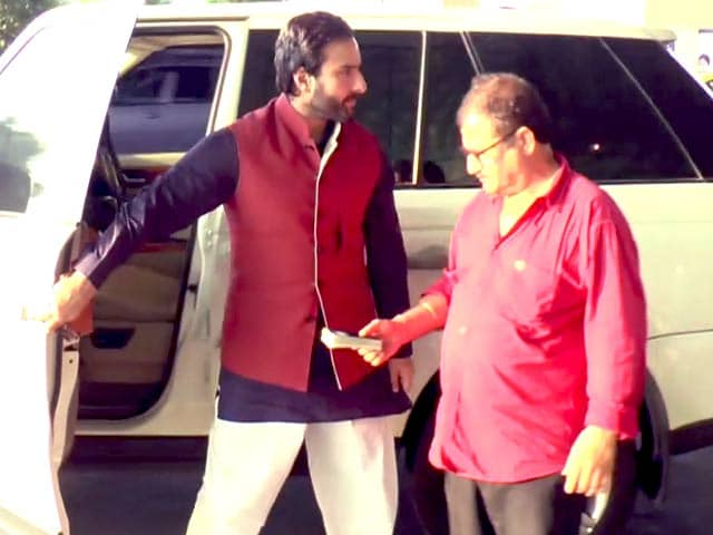 Video : Saif Ali Khan Spotted At Mumbai Airport