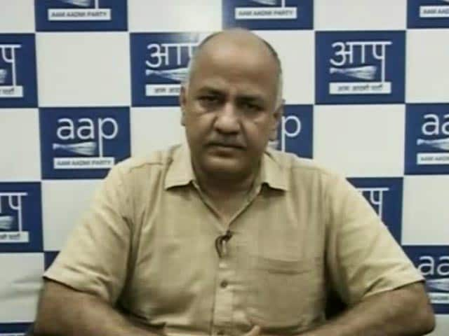 Video : Delhi Deputy CM Manish Sisodia On Curbing Air Pollution In The City