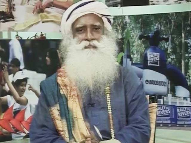 Video : Sadhguru On How To Revitalize The Rivers Of India
