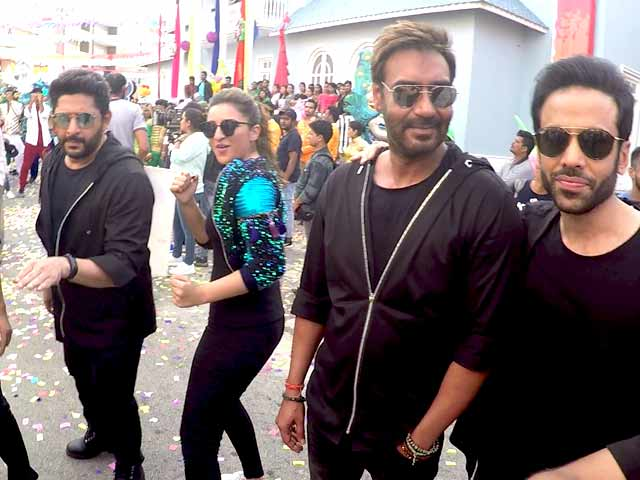 Video : Meet Ajay Devgn, Parineeti Chopra, Rohit Shetty & Other <i>Golmaal Again</i> Stars