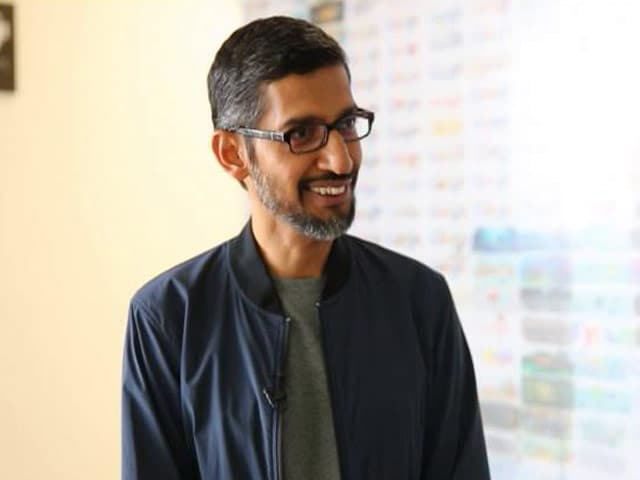 Video : Artificial Intelligence Good But Needs Ethical Approach: Sundar Pichai