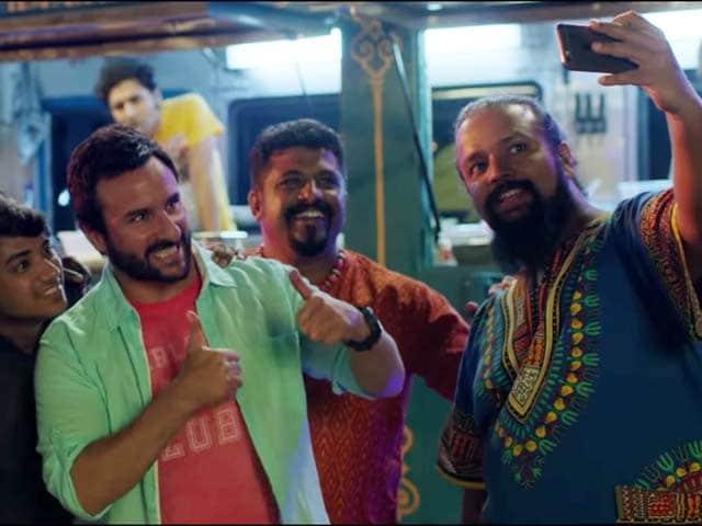 Video : First Impressions of Saif Ali Khan's <i>Chef</i>