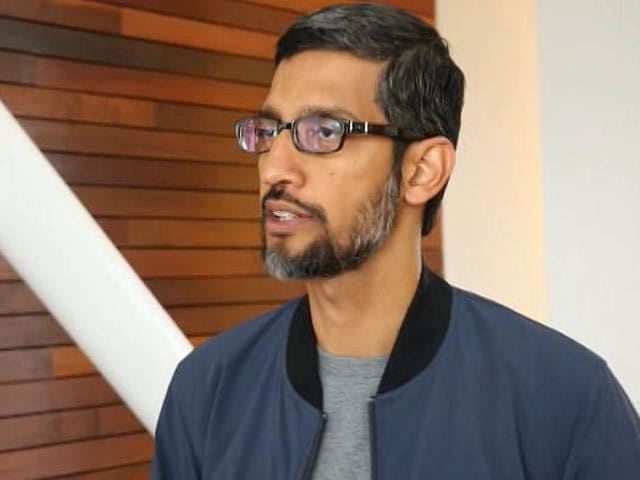 Video : Sundar Pichai To NDTV On Whether Robots Can Start World War 3