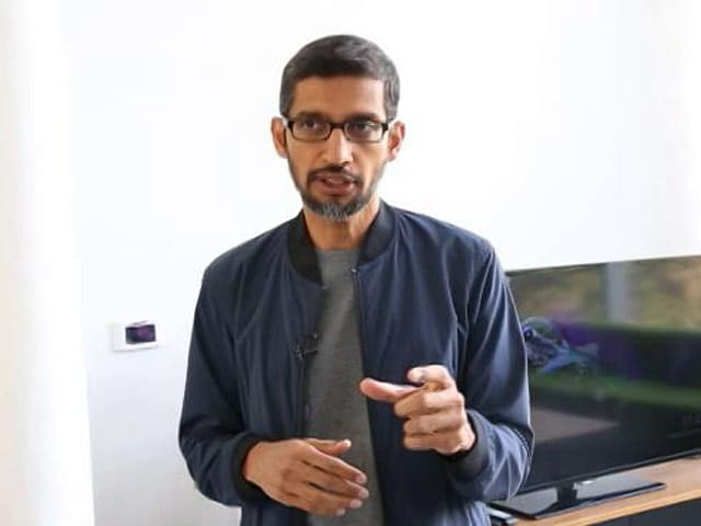 Sundar Pichai On How Should Privacy Be Protected By Google, Aadhaar