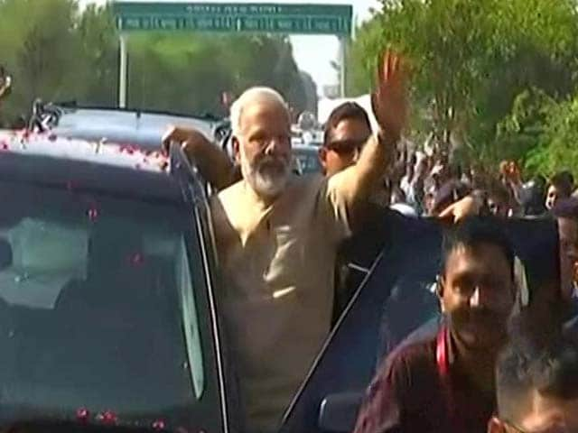 Video : In PM's Roadshow, Meetings In Hometown, BJP's Big Push For Gujarat Polls