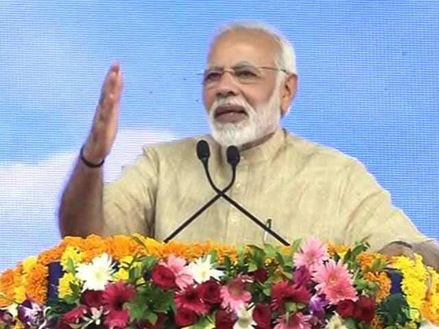 Video : 'Coming Back Is Special,' Says PM Modi At Hometown In Gujarat