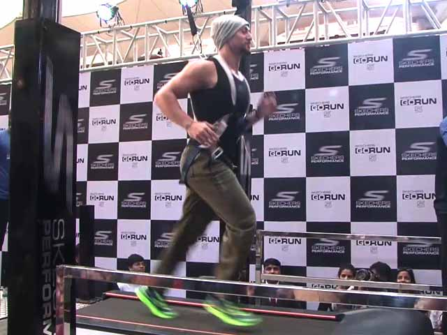 Watch: Tiger Shroff's Lightning Speed Run