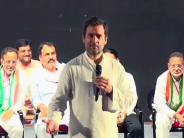 Video : 'Ever Seen Women In Shorts At RSS?': Rahul Gandhi Attacked For Comment
