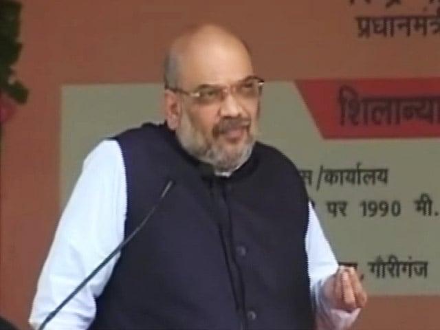 Video : इंडिया 8 बजे: राहुल बताएं अब तक अमेठी का विकास क्यों नहीं हुआ: अमित शाह