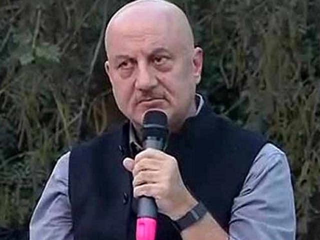 Anupam Kher Appointed FTII Chairperson, Replaces Gajendra Chauhan