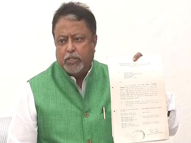 Video : Compelled To Quit Trinamool With Heavy Heart, Says Mukul Roy