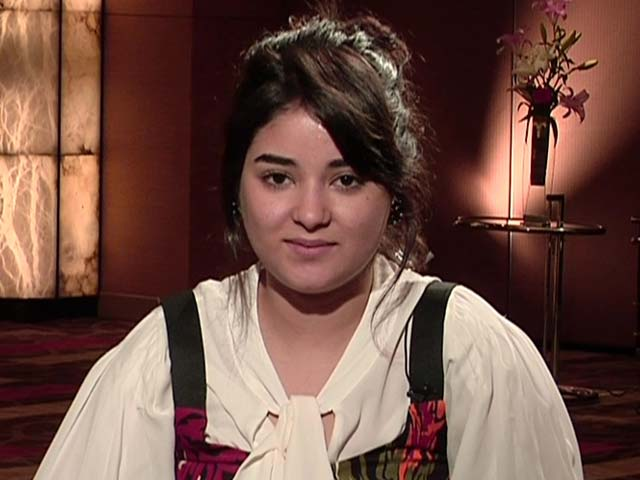 Zaira Wasim On What It Was Like On The Sets Of Secret Superstar