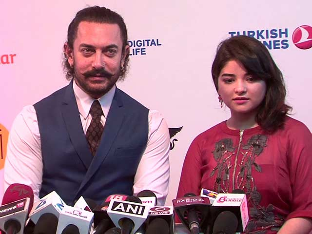 Secret Superstar: Aamir Khan & Zaira Wasim Are Excited & Nervous
