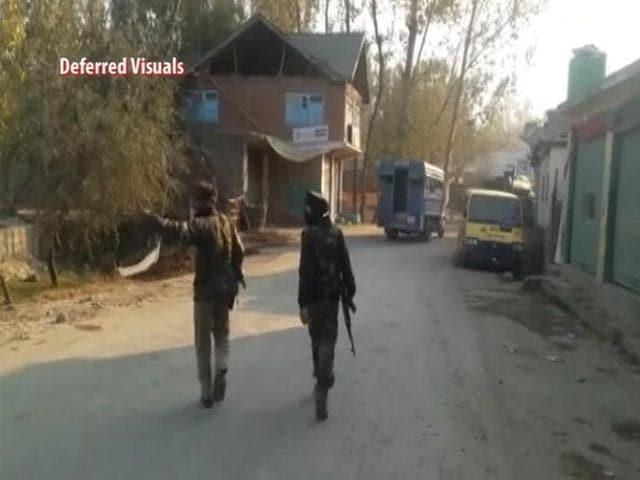Video : Top Lashkar Commander Killed In Encounter In Kashmir's Pulwama