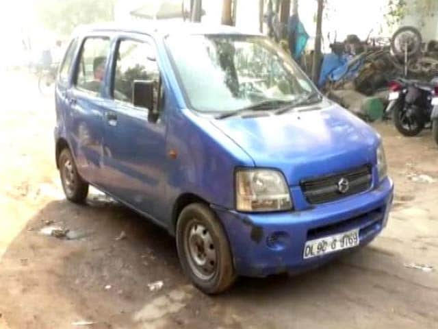 Video : Arvind Kejriwal's Blue WagonR, Missing For 2 Days, Found In Ghaziabad Near Delhi