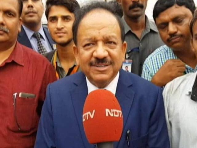 Video : Make Zero Pollution Crackers: Dr Harsh Vardhan's Challenge To Indian Scientists