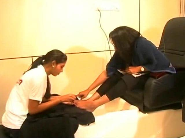 Video : Chennai Salon Employs Staff With Disabilities, Gets Thumbs Up From Customers