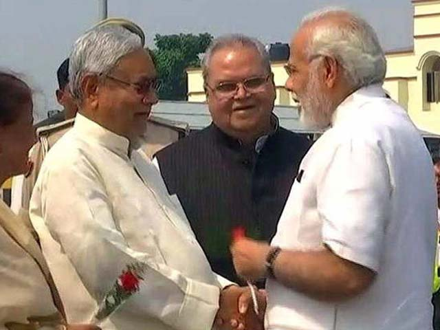 Video : In Patna, How PM Modi Handled Nitish Kumar's Stumper