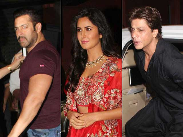 Video : Salman, SRK, Katrina, KJo & Other Stars At Arpita Khan's Diwali Party