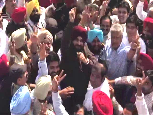 Video : Navjot Singh Sidhu On Congress's Victory In BJP Stronghold