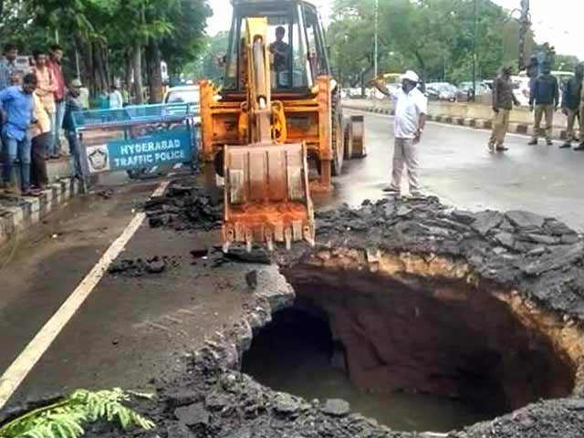 Video : Greater Hyderabad Or Crater Hyderabad?